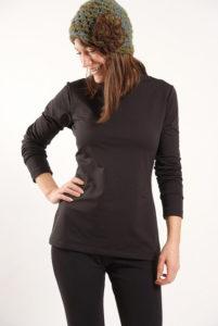 women wearing polyester base layer