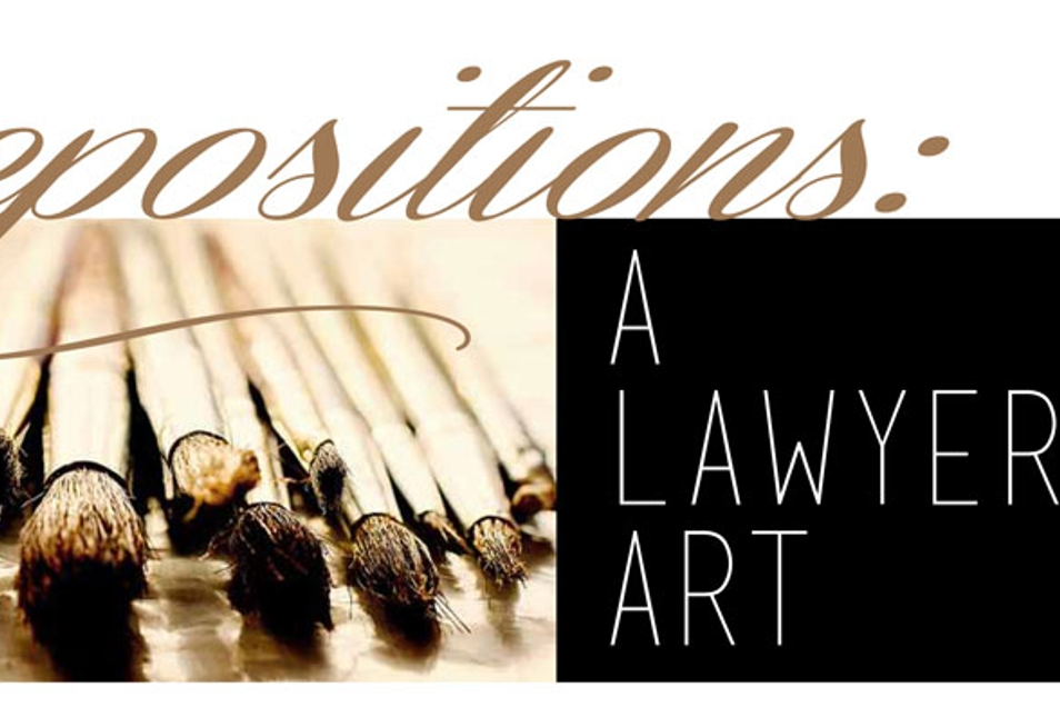 DEPOSITIONS-A-LAWYER___S-ART
