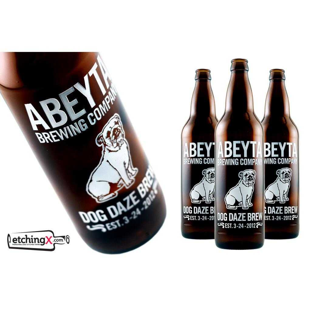 personalized beer