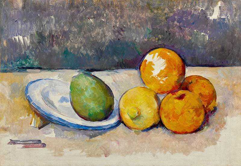 Cezanne's Nature Morte was sold by Sotheby's New York for $8.13 million in November 2017