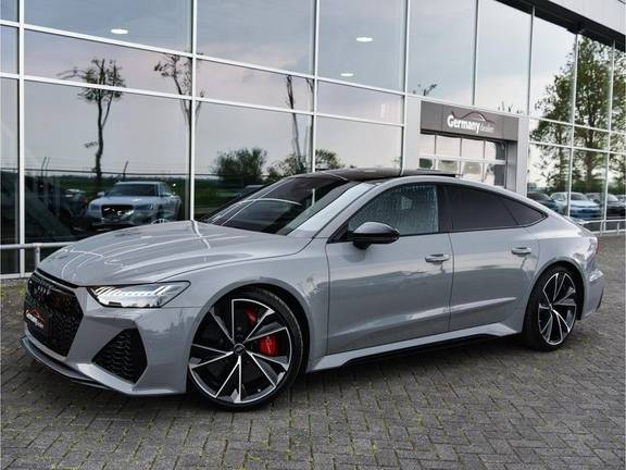 Audi RS7 Sportback 4.0TFSI 600pk Quattro Black Optic Laser-Led Softclose Head-Up Leder-dash RS-Zetels 22-Inch 360Camera