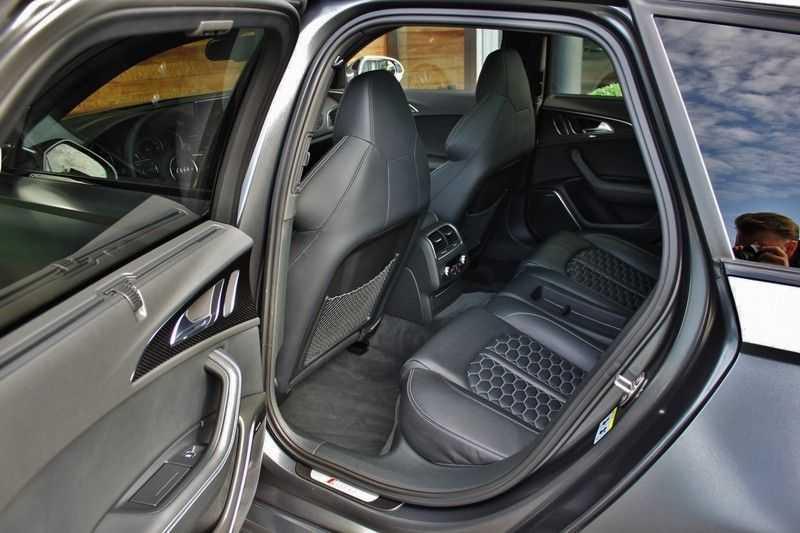 Audi RS6 4.0 V8 560pk Quattro **Carbon in.ext./HUD/Pano.dak/ACC/Bang.Olufsen** afbeelding 22