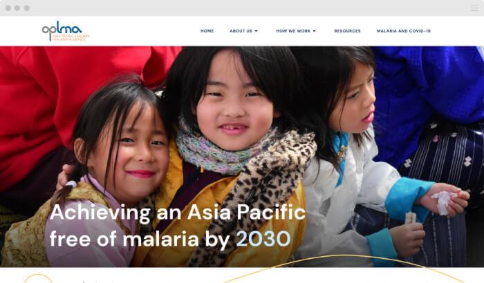 APLMA Website Homepage