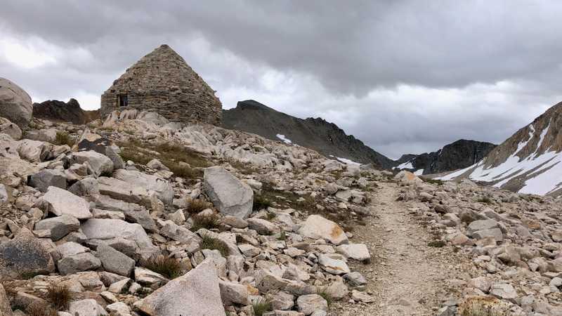 Reaching Muir Pass