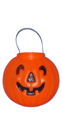 Pumpkin Candy Pail photo