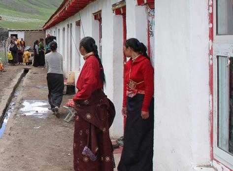 Schoolgebouw Tibet