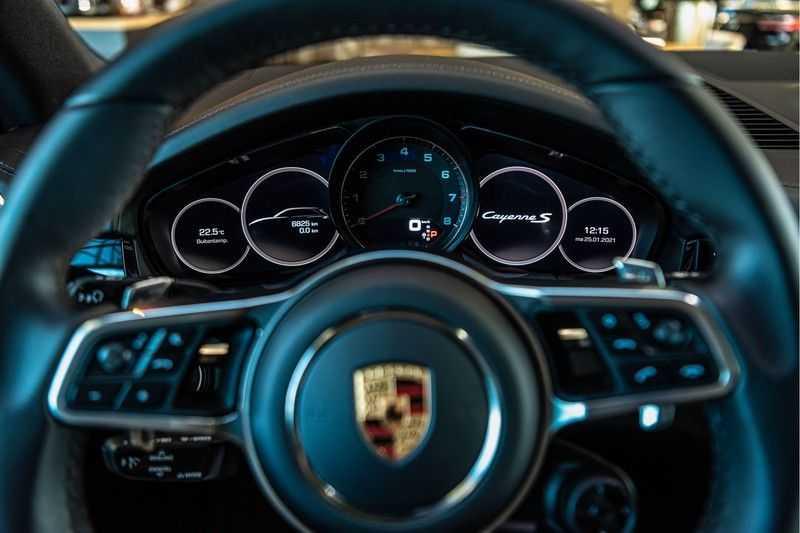 Porsche Cayenne 2.9 S | Sport Chrono | Panorama | PDLS | PASM | DAB | Memorypakket afbeelding 9