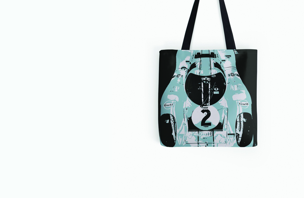 Porsche 917K All Over Print Tote Bag by thespeedart