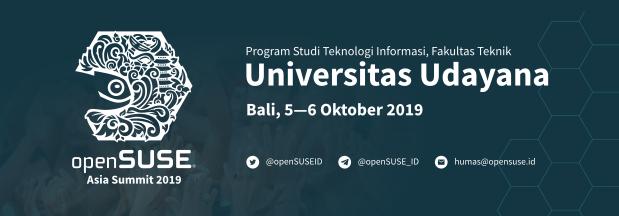 openSUSE.Asia Summit 2019