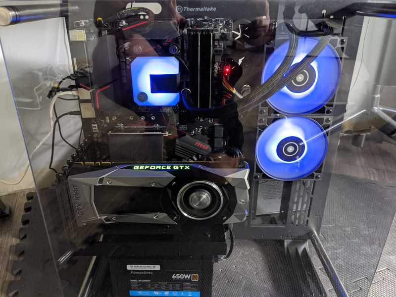 gtx 1080 installed