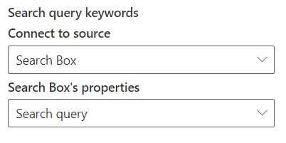 Setting the data source for the Search Results web part