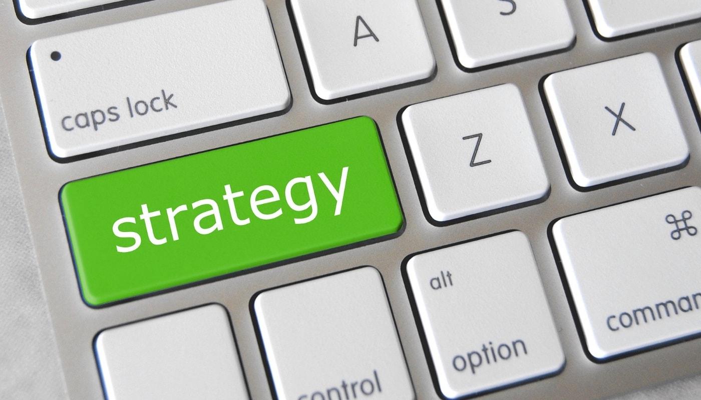 Strategy key on keyboard.