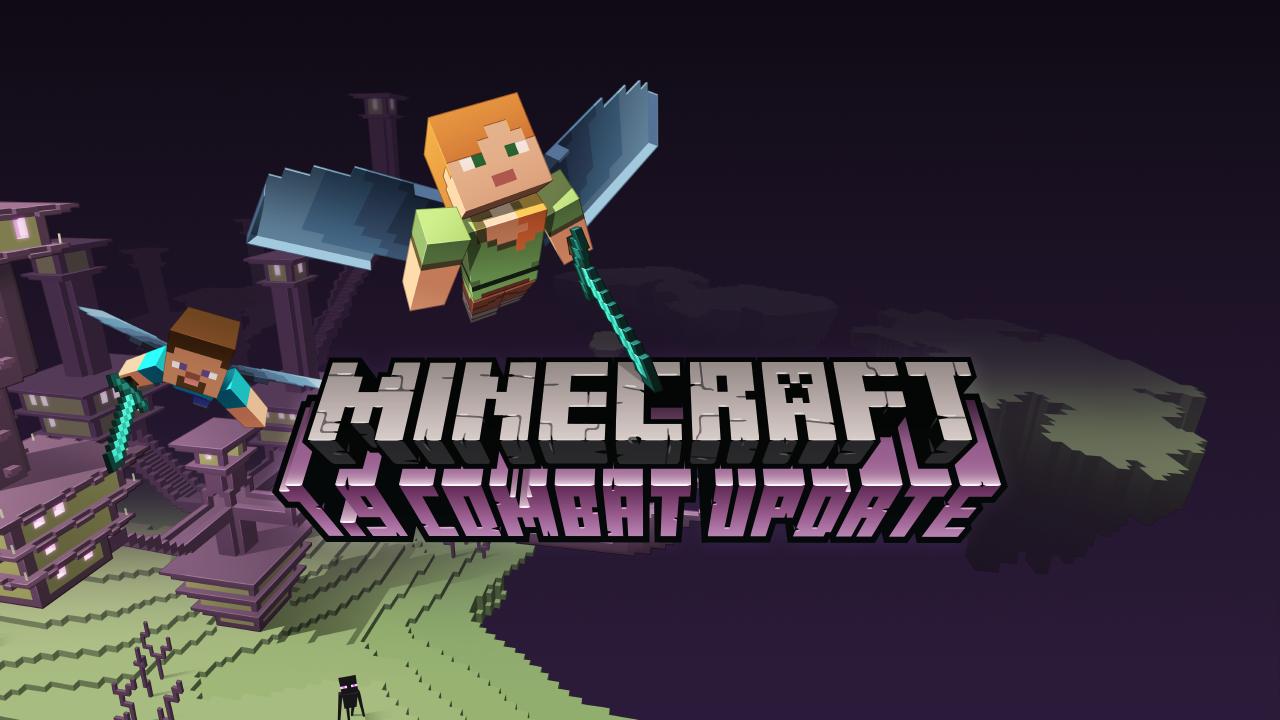 Minecraft 1.9, Combat Update Released