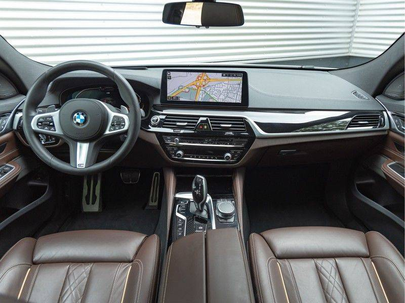 BMW 6 Serie Gran Turismo 630i High Executive - M-Sport - Luchtvering - Facelift - Panorama afbeelding 13