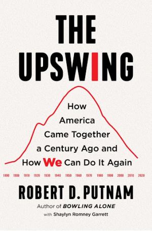 The Upswing by Robert Putnam Book Cover