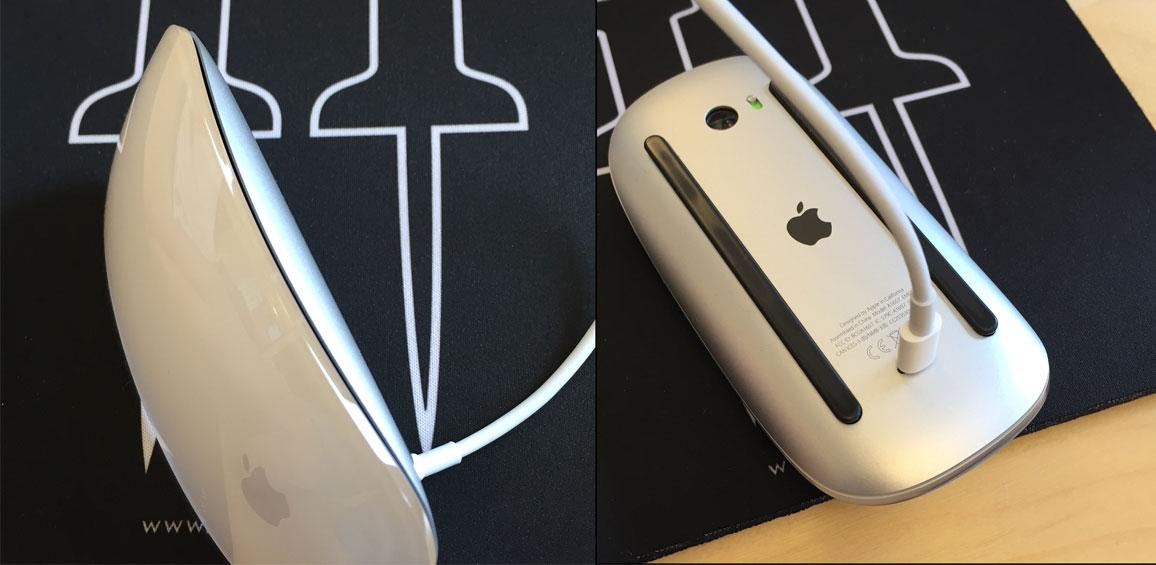 Apple Magic Mouse 2 är svår att använda när den laddas.