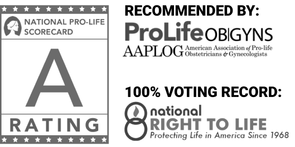 Dr. Marshall is a member of several pro-life organizations