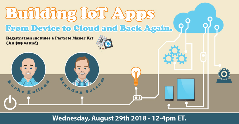 Banner for Building IoT Apps (2018) - Course Outline