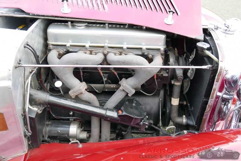 Jaguar SS100 3.5 Roadster / Heritage Trust Certificate / RHD afbeelding 5
