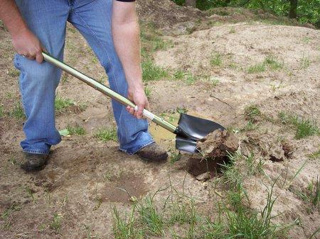 off road shovel axe kit