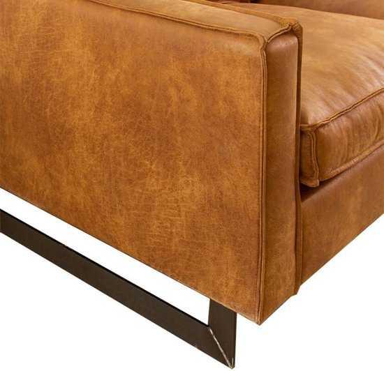 Hoekbank Riverdance Chaise Longue Links Leer Colorado Cognac 03 2 17 X 2 90 Mtr Breed 9200000077019671_2 60 cm