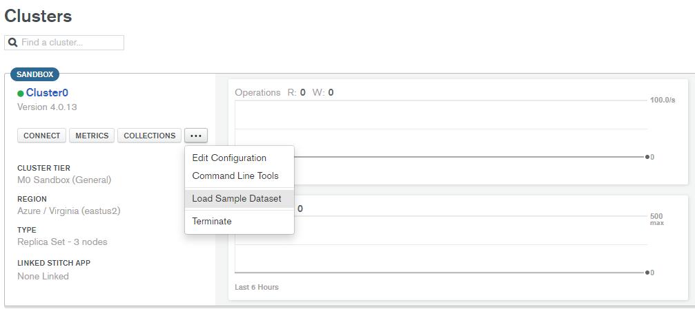 Load Sample Data