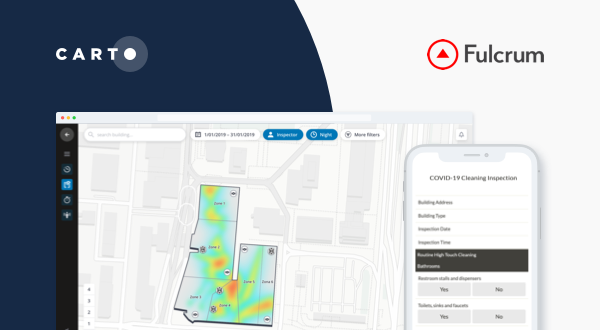 Fulcrum & CARTO partner to provide COVID-19 emergency response solutions