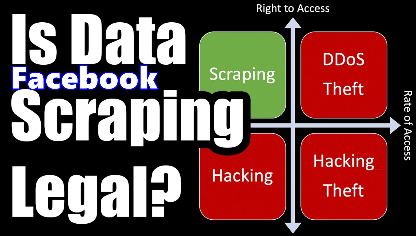 Is Scraping Facebook Data Legal? Can You Still Scrape Data From Facebook?