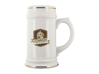 Puppers Beer Stein