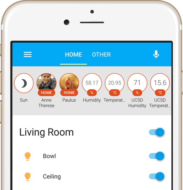 Home Assistant screenshot