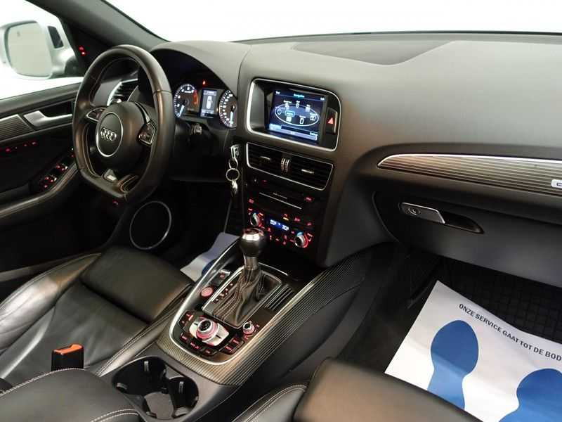 Audi SQ5 3.0 TFSI Quattro 354pk Autom- Panodak, B&O, Leer, Camera, Navi, Xenon, 21 Inch LMV afbeelding 12