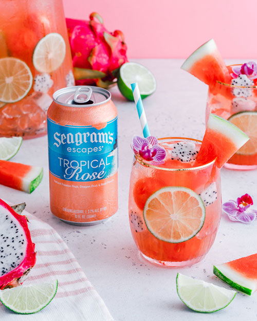 Tropical Rosé Sparkler Recipe Image