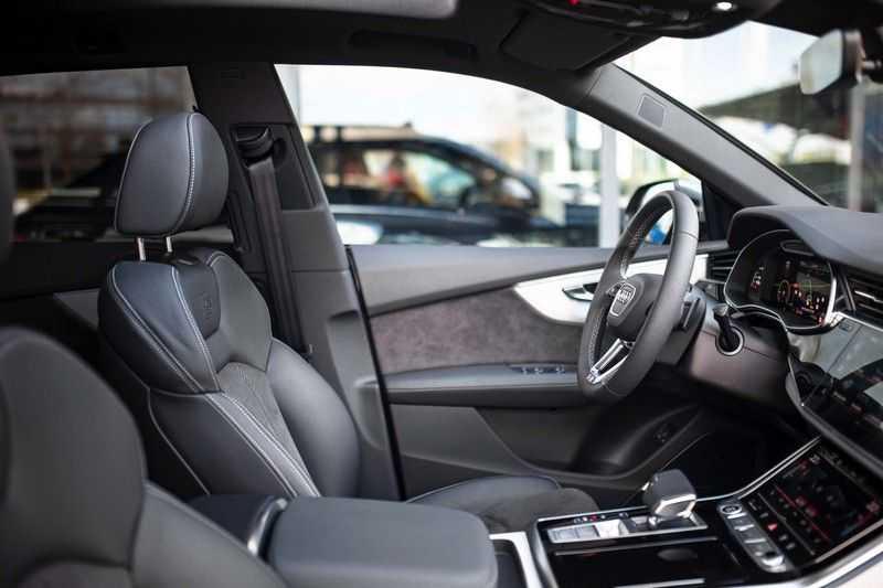 "Audi Q8 55 TFSI E Hybride Quattro *S-Line / B&O / Pano / 23"" / Black Pack / ACC* afbeelding 7"