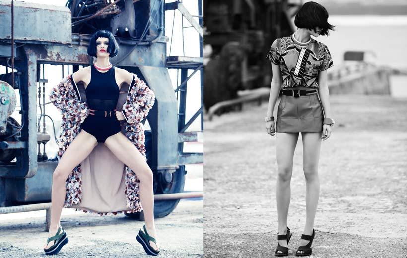 Elisabetta Cavatorta Stylist - Sven Baenziger - Grazia