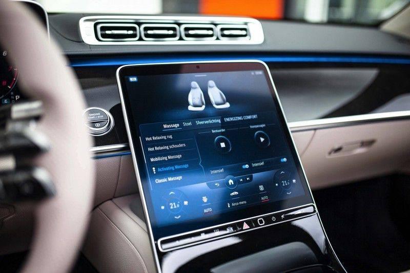 "Mercedes-Benz S-Klasse 500 4Matic Lang AMG NP €193.000 *Pano / 3D Burmester / HUD / Distronic / 21"" / 3D Display* afbeelding 21"