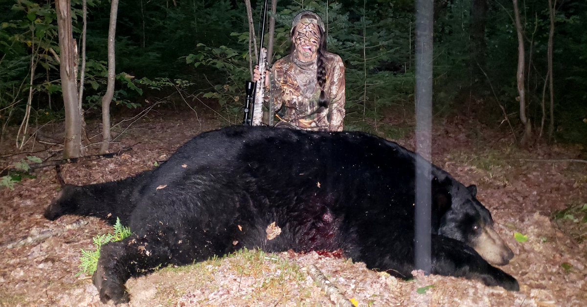 Kari Ann Irby Hunt Maine Black Bear Record