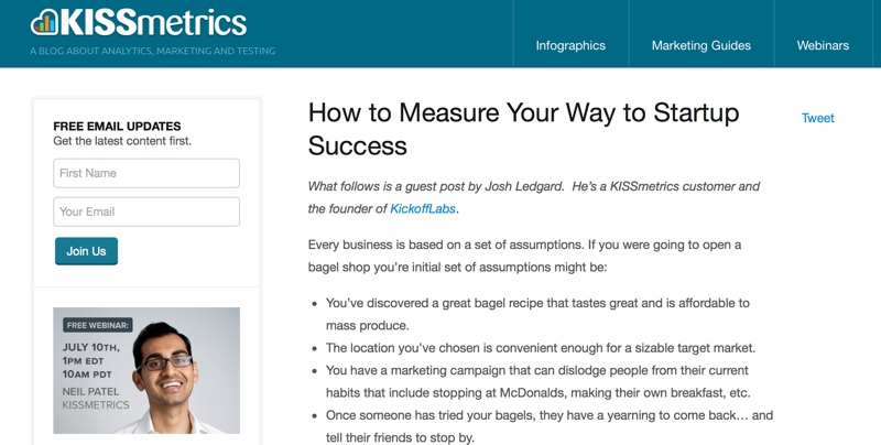 How to measure your way to startup success.