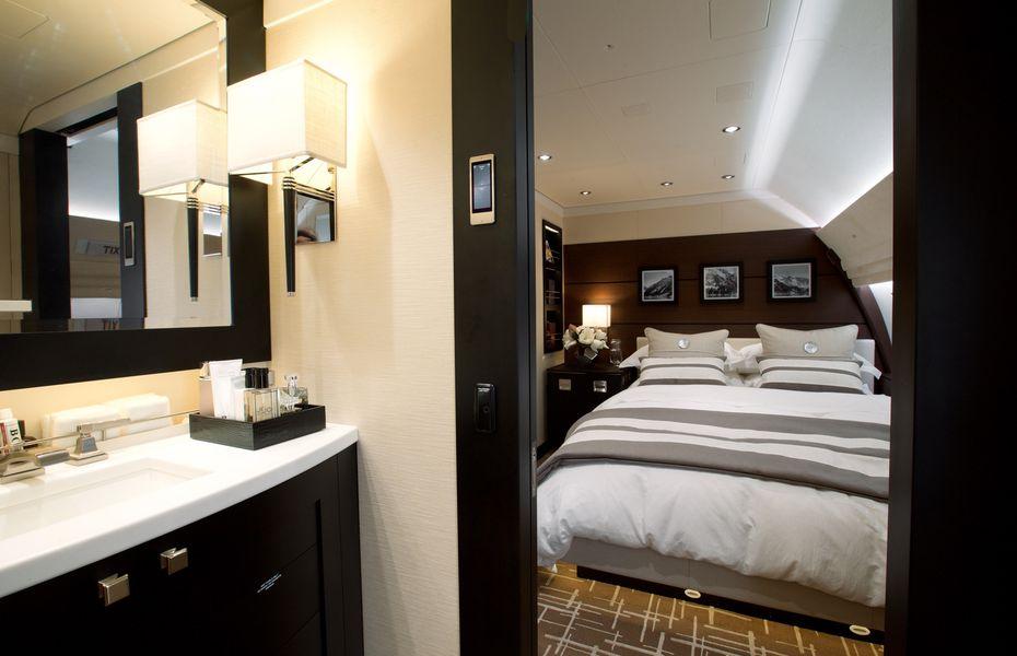 VIP airliner bedroom