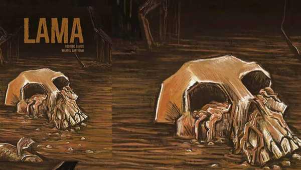 capa de Lama de Rodrigo Ramos e Marcel Bartholo