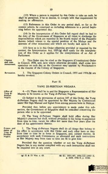 Singapore Constitution