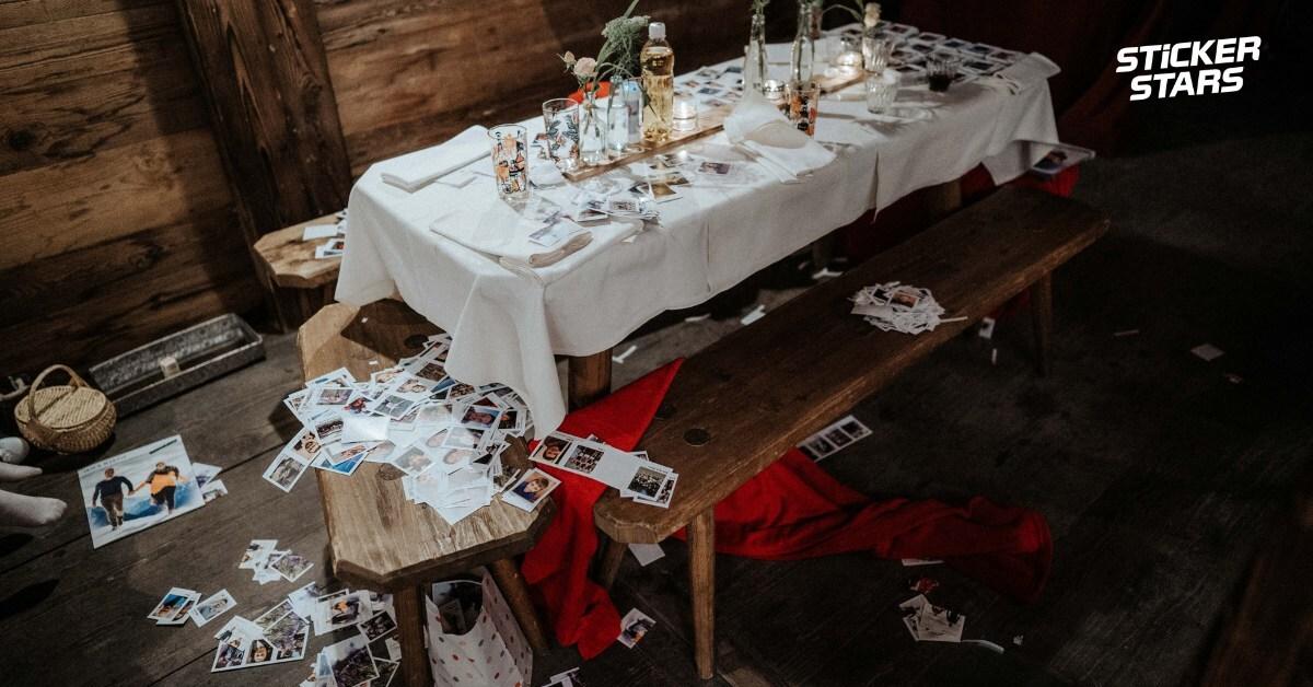 Zur Erinnerung an eure Hochzeit: Das Chaos danach!