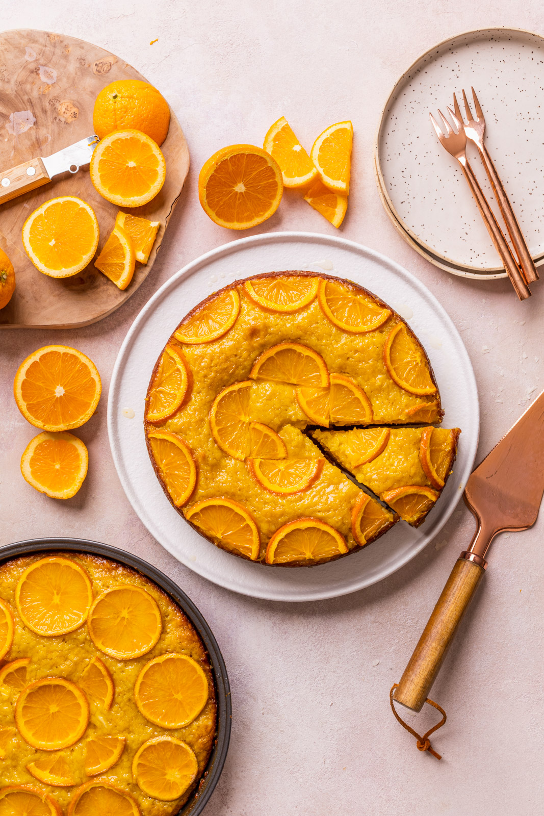 Greek Orange Phyllo Cake (Portokalopita)