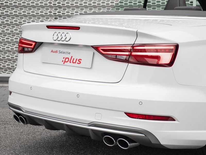 Audi A3 cabriolet 2.0 TFSI S3 quattro | B&O Sound | Adapt.Cruise | Dynamic RED | Stoelverwarming | LED | Climate-control | afbeelding 8