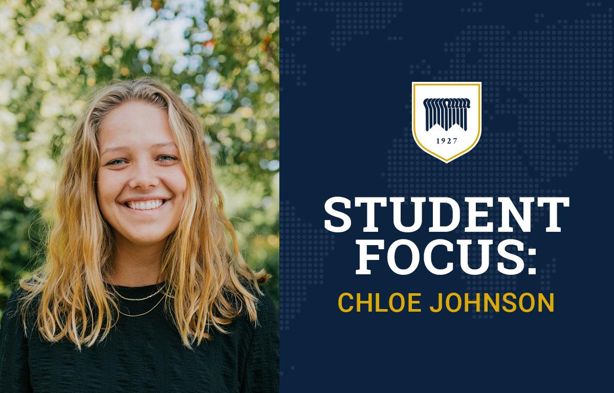 Student Focus: Chloe Johnson image