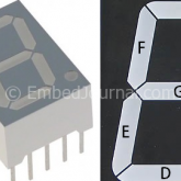 Interface 7 Segment Display with Microcontroller
