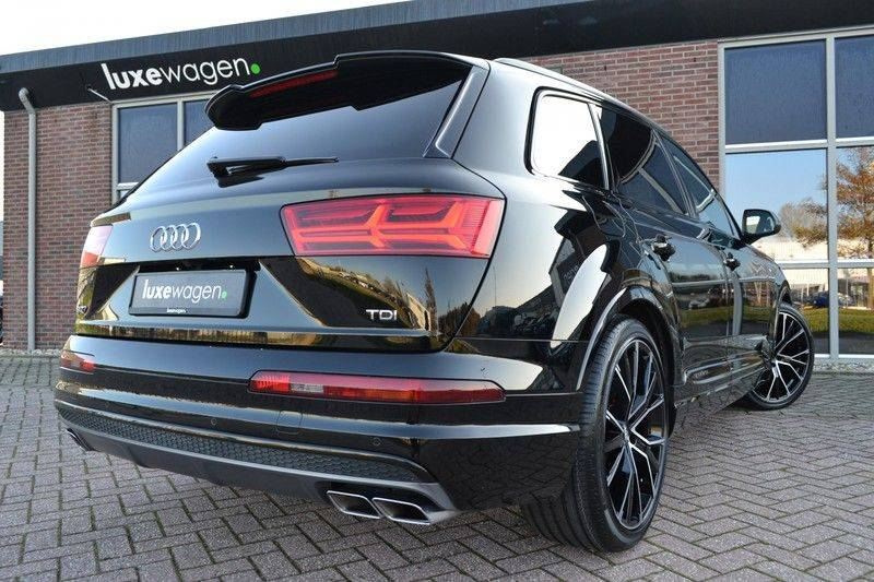 Audi SQ7 4.0 TDI 435pk quattro Pano Nachtz ACC HUD 4wielbest Ruitstiksel Luchtv 22inch Carbon afbeelding 17