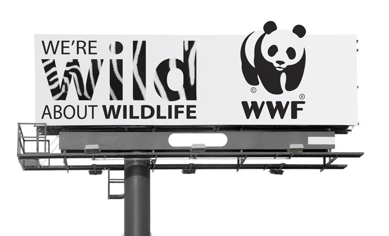 World Wildlife Billboard Design