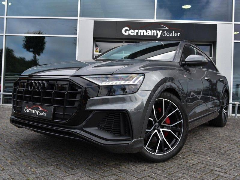 Audi Q8 50TDI 286pk Quattro S-Line Black Optic Lucht RS-Zetels B&O Pano Leder-Dash 22-Inch Soft-Close! afbeelding 3