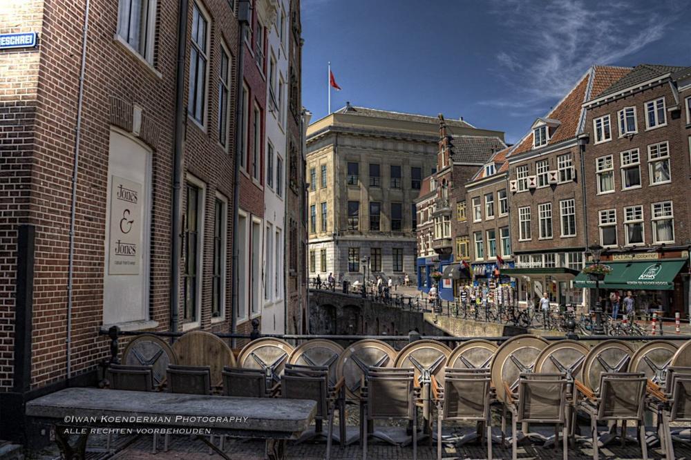 HDR foto Vismarkt Utrecht | advies en ondersteuning in social selling aan mkb