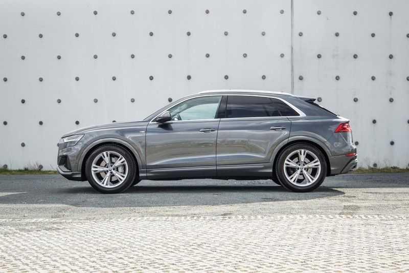 Audi Q8 55 TFSI quattro 340PK | Pano.dak | S-Line | 360 Camera | Adapt.cruise | Head-Up | B&O Advanced Sound | Massage/ventilatie/verwarmde Stoelen | Matrix LED | Full option | afbeelding 9